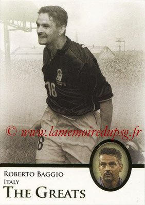 2013 - Futera World Football Unique - N° 101 - Roberto BAGGIO (Italie) (The Greats)