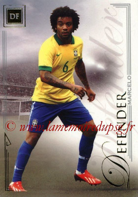 2014 - Futera World Football Unique - N° 022 - MARCELO (Defender)