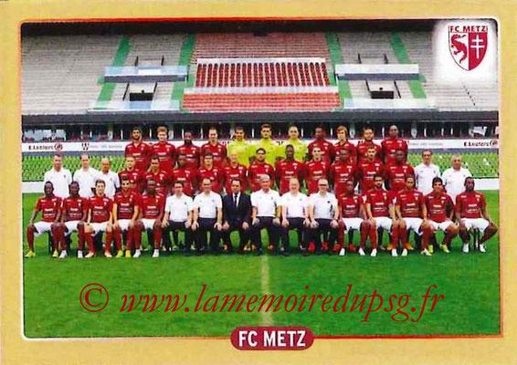 2015-16 - Panini Ligue 1 Stickers - N° 504 - Equipe FC Metz