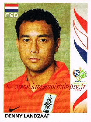 2006 - Panini FIFA World Cup Germany Stickers - N° 236 - Denny LANDZAAT (Pays Bas)