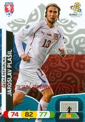 Panini Euro 2012 Cards Adrenalyn XL - N° 006 - Jaroslav PLASIL (République Tchèque)