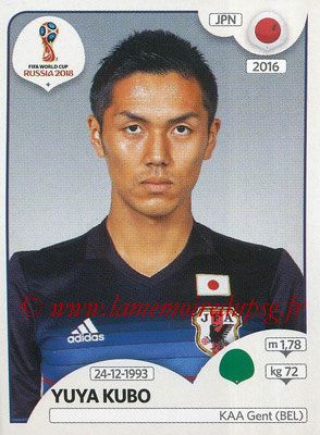 2018 - Panini FIFA World Cup Russia Stickers - N° 670 - Yuya KUBO (Japon)