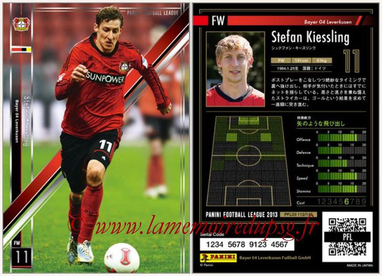 Panini Football League 2013 - PFL03 - N° 112 - Stefan Kiessling (Bayer Leverkusen)