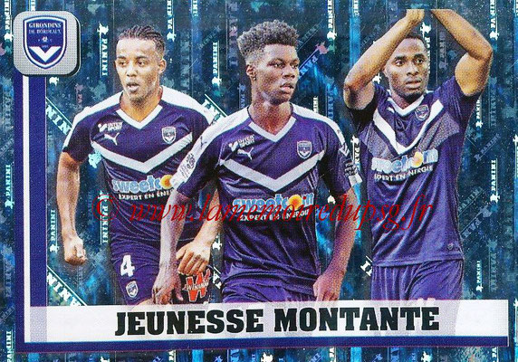 2018-19 - Panini Ligue 1 Stickers - N° 075 - Jeunesse Montante (Bordeaux)