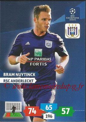 2013-14 - Adrenalyn XL champions League N° 039 - Bram NUYTINCK (RSC Anderlecht)