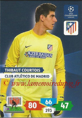 2013-14 - Adrenalyn XL champions League N° 055 - Thibaut COURTOIS (Club Atlético de Madrid)