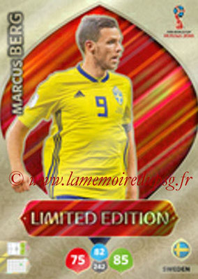 2018 - Panini FIFA World Cup Russia Adrenalyn XL - N° LE-MAB - Marcus BERG (Suede) (Limited Edition)