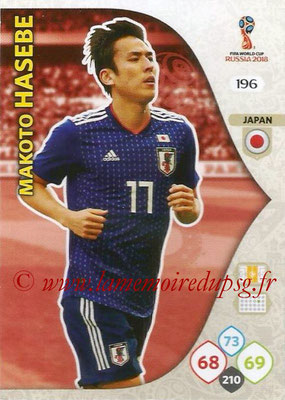 2018 - Panini FIFA World Cup Russia Adrenalyn XL - N° 196 - Makoto HASEBE (Japon)
