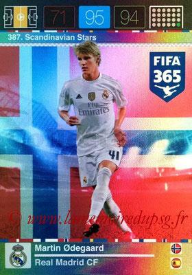 2015-16 - Panini Adrenalyn XL FIFA 365 - N° 387 - Martin ODEGAARD (Real Madrid CF) (Scandinavian Stars) (Nordic Edition)