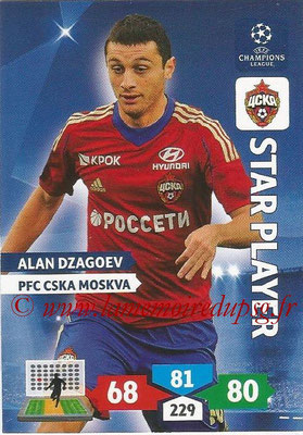 2013-14 - Adrenalyn XL champions League N° 131 - Alan DZAGOEV (PFC CSKA Moscou) (Star Player)