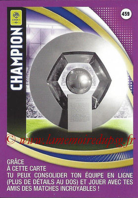 2016-17 - Panini Adrenalyn XL Ligue 1 - N° 459 - Champion - Hexagoal