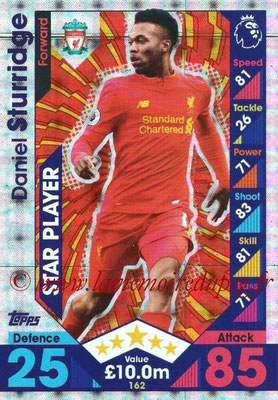 2016-17 - Topps Match Attax Premier League - N° 162