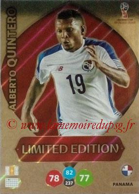 2018 - Panini FIFA World Cup Russia Adrenalyn XL - N° LE-AQ - Alberto QUINTERO (Panama) (Limited Edition)