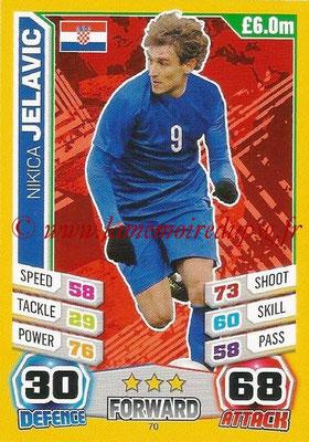 Topps Match Attax England 2014 - N° 070 - Nikica JELAVIC (Croatie)