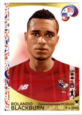 Panini Copa America Centenario USA 2016 Stickers - N° 372 - Rolando BLACKBURN (Panama)