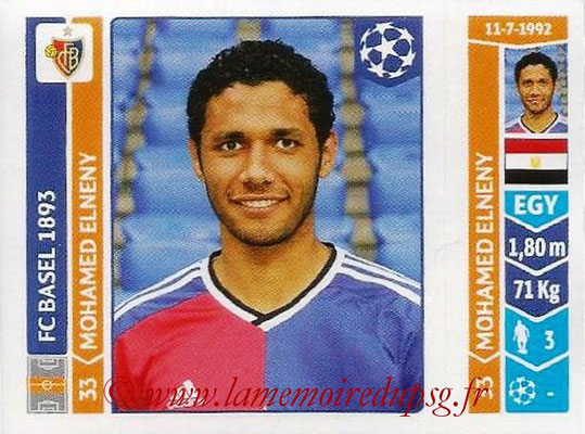 2014-15 - Panini Champions League N° 141 - Mohamed ELNENY (FC Bâle)
