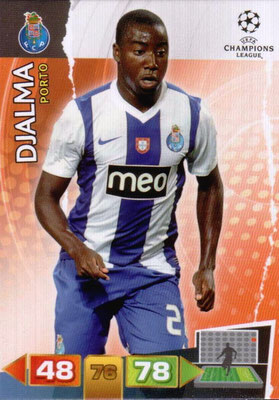 2011-12 - Panini Champions League Cards - N° 220 - DJALMA (FC Porto)