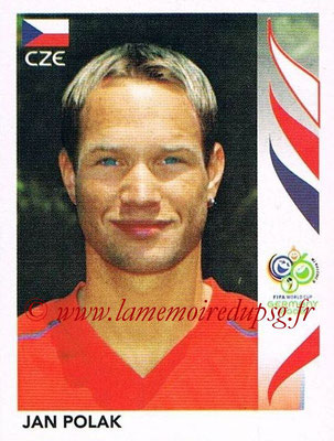 2006 - Panini FIFA World Cup Germany Stickers - N° 371 - Jan POLAK (République Tchèque)