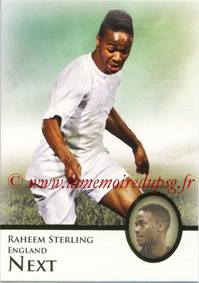 2013 - Futera World Football Unique - N° 098 - Raheem STERLING (Angleterre) (Next)