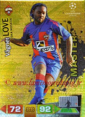 2011-12 - Panini Champions League Cards - N° 335 - Wagner LOVE (CSKA Moscou) (Master)