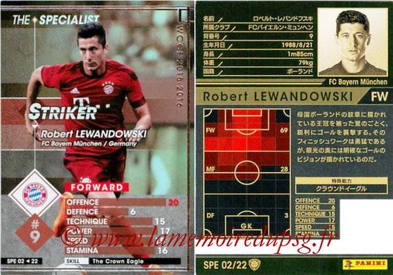 2015-16 - Panini WCCF - N° SPE02 - Robert LEWANDOWSKI (FC Bayern Munich) (The Specialist)