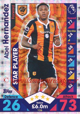 2016-17 - Topps Match Attax Premier League - N° 126