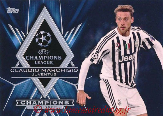 2015-16 - Topps UEFA Champions League Showcase Soccer - N° CP-CM - Claudio MARCHISIO (Juventus FC) (Champions Pedigree)