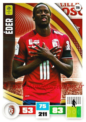 2016-17 - Panini Adrenalyn XL Ligue 1 - N° 119 - EDER (Lille)