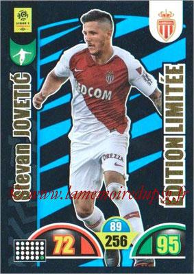 2018-19 - Panini Adrenalyn XL Ligue 1 - N° LE-SJ - Stevan JOVETIC (Monaco) (Edition Limitée)