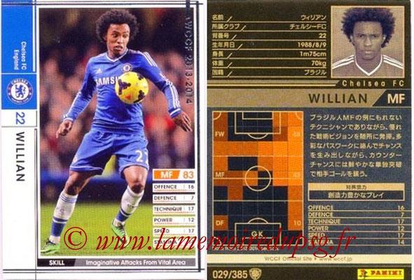 2013-14 - WCCF - N° 029 - WILLIAN (Chelsea FC)