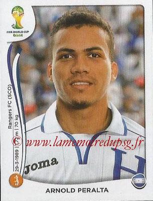 2014 - Panini FIFA World Cup Brazil Stickers - N° 402 - Arnold PERALTA (Honduras)