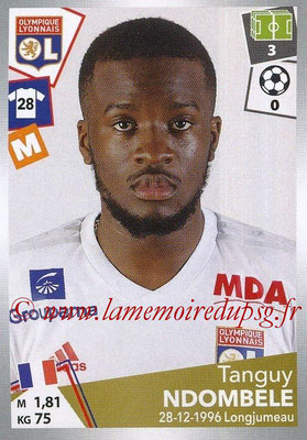 2017-18 - Panini Ligue 1 Stickers - N° 195 - Tanguy NDOMBELE (Lyon)