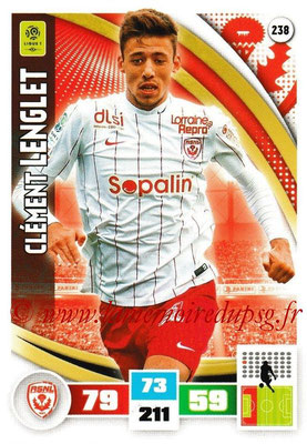2016-17 - Panini Adrenalyn XL Ligue 1 - N° 238 - Clément LENGLET (Nancy)