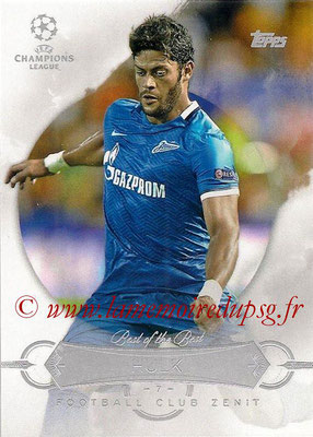 2015-16 - Topps UEFA Champions League Showcase Soccer - N° BB-H - HULK (FC Zenit) (Best of the Best)