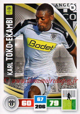 2016-17 - Panini Adrenalyn XL Ligue 1 - N° 018 - Karl Toko EKAMBI (Angers)