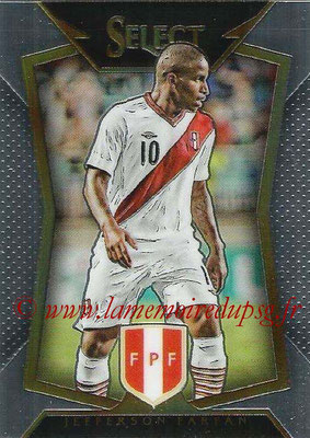 2015 - Panini Select Soccer - N° 009 - Jefferson FARFAN (Perou)