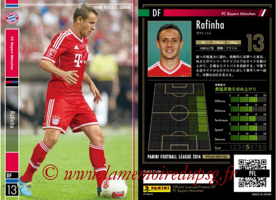 Panini Football League 2014 - PFL06 - N° 085 - RAFINHA (FC Bayern Munich)