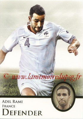 2013 - Futera World Football Unique - N° 026 - Adil RAMI (France) (Defender)