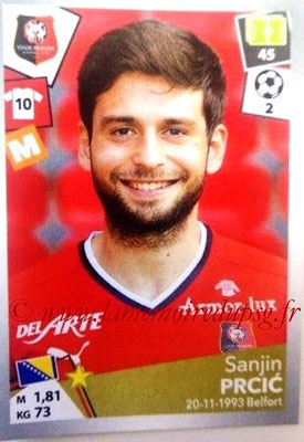 2017-18 - Panini Ligue 1 Stickers - N° 407 - Sanjin PRCIC (Rennes)