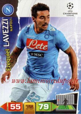 N° 181 - Ezequiel LAVEZZI (2011-12, Naples, ITA > 2012-Jan 16, PSG)
