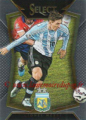 2015 - Panini Select Soccer - N° 065 - Lionnel MESSI (Argentine)