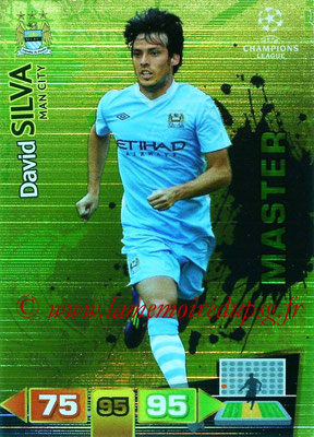 2011-12 - Panini Champions League Cards - N° 339 - David SILVA (Manchester City FC) (Master)