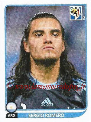 2010 - Panini FIFA World Cup South Africa Stickers - N° 108 - Sergio ROMERO (Argentine)