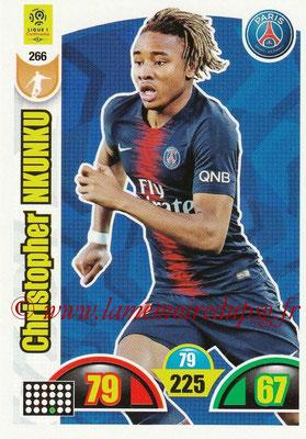 2018-19 - Panini Adrenalyn XL Ligue 1 - N° 266 - Christopher NKUNKU (Paris Saint-Germain)