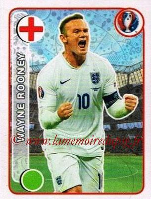 Panini Euro 2016 Stickers - N° 149 - Wayne ROONEY (Angleterre)
