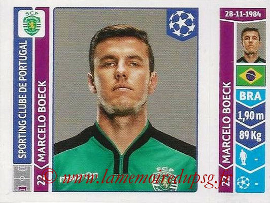 2014-15 - Panini Champions League N° 536 - Marcelo BOECK (Sporting Club de Portugal)