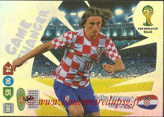 2014 - Panini FIFA World Cup Brazil Adrenalyn XL - N° 399 - Luka MODRIC (Croatie) (Game Changer)