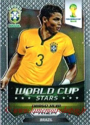 N° WCS08 - Thiago SILVA (2012-??, PSG > 2014, Brésil) (World Cup Stars)