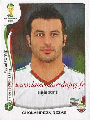 2014 - Panini FIFA World Cup Brazil Stickers - N° 466 - Gholamreza REZAEI (Iran)