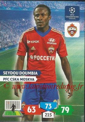 2013-14 - Adrenalyn XL champions League N° 133 - Seydou DOUMBIA (PFC CSKA Moscou)